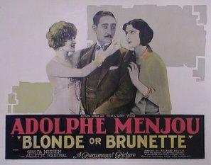 Blonde or Brunette - Movie Poster (thumbnail)
