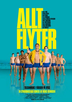 Allt flyter - Swedish Movie Poster (thumbnail)