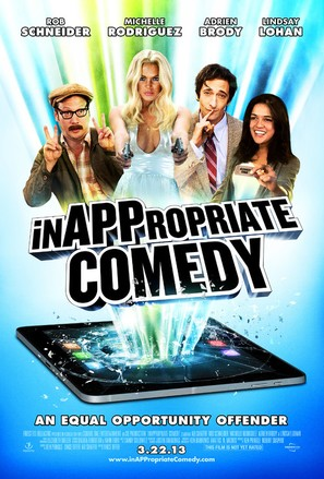 InAPPropriate Comedy - Movie Poster (thumbnail)