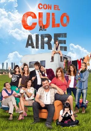 """""""Con el culo al aire"""" - Spanish Movie Poster (thumbnail)"""