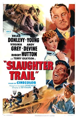 Slaughter Trail - Movie Poster (thumbnail)