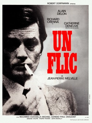 Un flic - French Movie Poster (thumbnail)