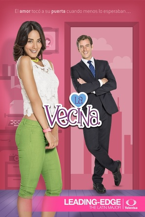 """La vecina"" - Mexican Movie Poster (thumbnail)"