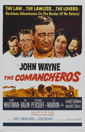 The Comancheros - Movie Poster (thumbnail)