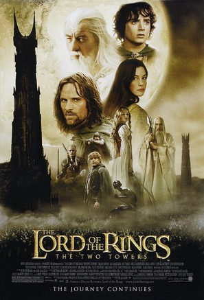 The Lord of the Rings: The Two Towers - Movie Poster (thumbnail)