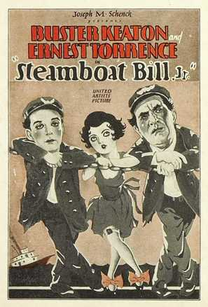 Steamboat Bill, Jr. - Movie Poster (thumbnail)