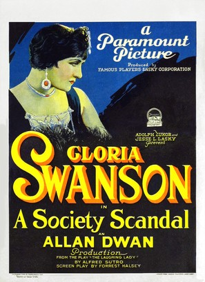 A Society Scandal - Movie Poster (thumbnail)