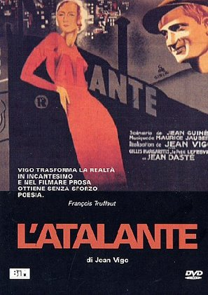 L'Atalante - Italian DVD movie cover (thumbnail)