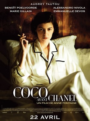 Coco avant Chanel - French Movie Poster (thumbnail)