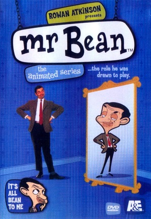 """Mr. Bean: The Animated Series"" - DVD cover (thumbnail)"