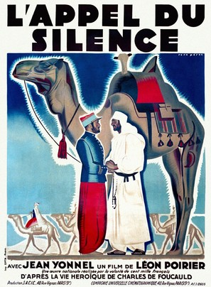 L'appel du silence - French Movie Poster (thumbnail)
