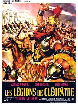 Le legioni di Cleopatra - French Movie Poster (thumbnail)