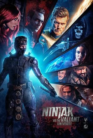 """""""Ninjak vs the Valiant Universe"""" - Movie Poster (thumbnail)"""