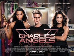 Charlie's Angels - British Movie Poster (thumbnail)