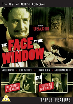 The Face at the Window - British DVD cover (thumbnail)