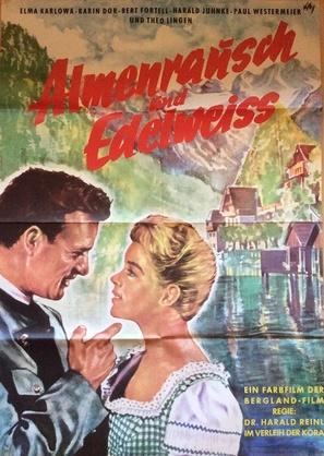 Almenrausch und Edelweiß - German Movie Poster (thumbnail)