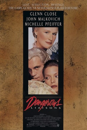 Dangerous Liaisons - Theatrical movie poster (thumbnail)