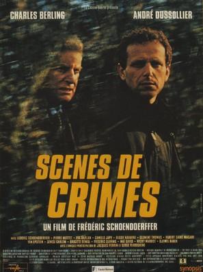 Scènes de crimes - French Movie Poster (thumbnail)