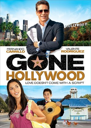 Gone Hollywood - DVD cover (thumbnail)