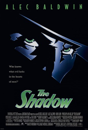 The Shadow - Theatrical movie poster (thumbnail)
