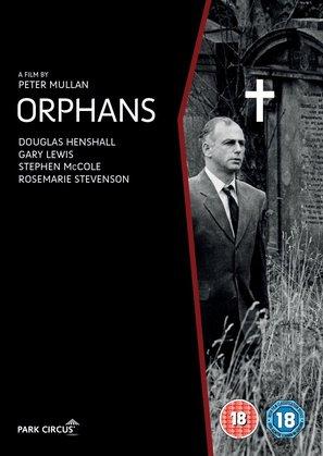 Orphans - British DVD movie cover (thumbnail)