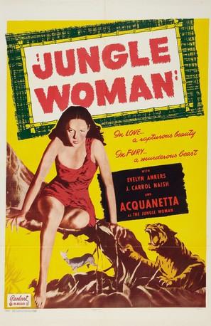 Jungle Woman - Movie Poster (thumbnail)
