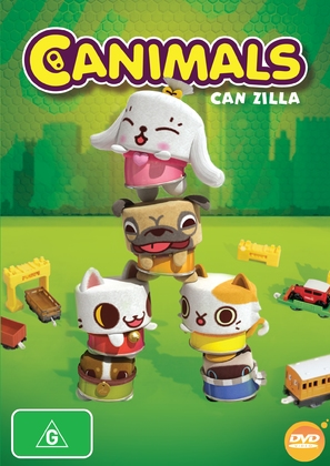 """Canimals"" - Australian DVD cover (thumbnail)"