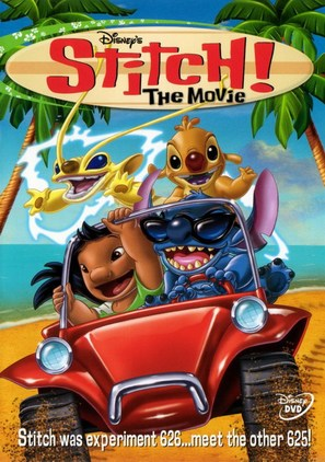 Stitch! The Movie - DVD cover (thumbnail)