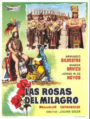 Las rosas del milagro - Mexican Movie Poster (thumbnail)