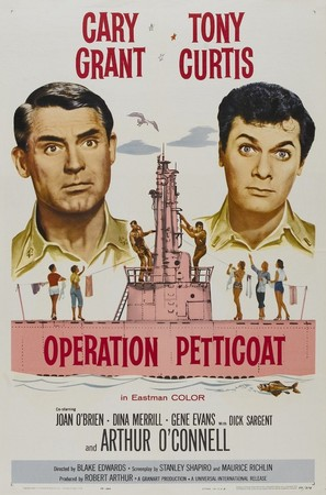 Operation Petticoat - Movie Poster (thumbnail)