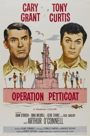 Operation Petticoat - Movie Poster (thumbnail)
