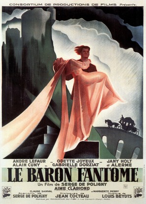 Le baron fantôme - French Movie Poster (thumbnail)