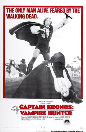 Captain Kronos - Vampire Hunter - Movie Poster (thumbnail)