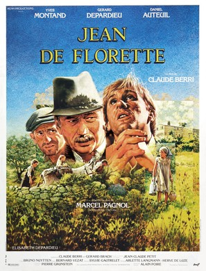 Jean de Florette - French Movie Poster (thumbnail)