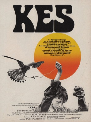 Kes - French Movie Poster (thumbnail)