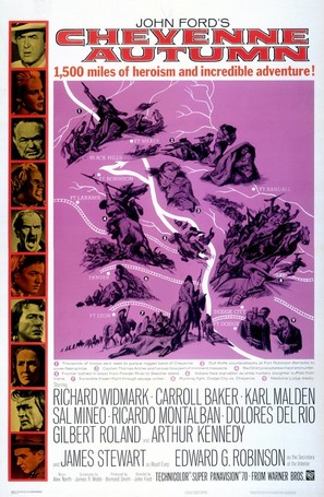 Cheyenne Autumn - Movie Poster (thumbnail)