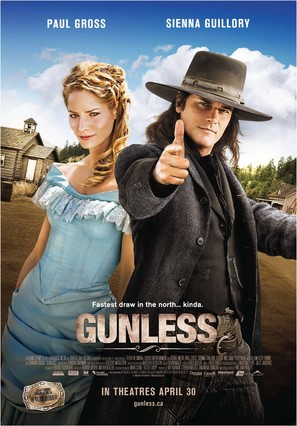 Gunless - Canadian Movie Poster (thumbnail)
