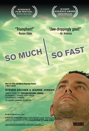So Much So Fast - poster (thumbnail)