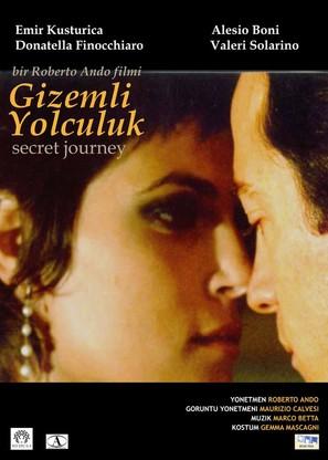 Viaggio segreto - Turkish Movie Poster (thumbnail)