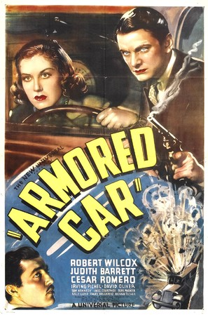 Armored Car - Movie Poster (thumbnail)