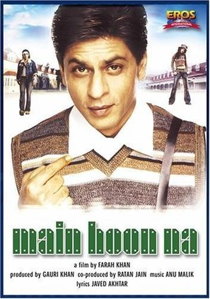 Main Hoon Na - Indian Movie Poster (thumbnail)