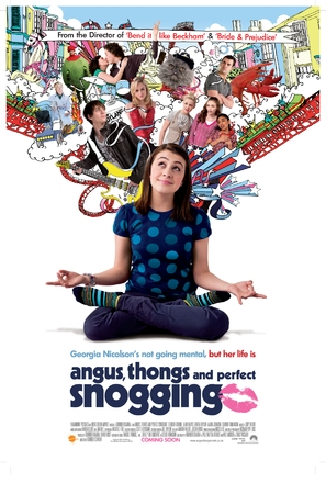 Angus, Thongs and Perfect Snogging - British Movie Poster (thumbnail)