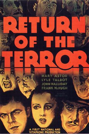 Return of the Terror - Movie Poster (thumbnail)