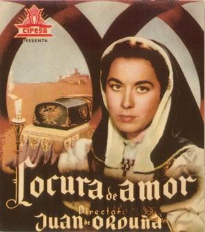 Locura de amor - Spanish Movie Poster (thumbnail)