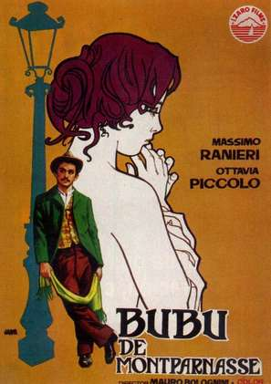 Bubù - Spanish Movie Poster (thumbnail)