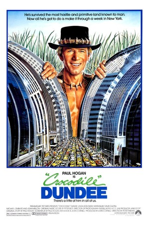 Crocodile Dundee - Movie Poster (thumbnail)