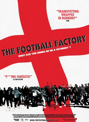The Football Factory - British Movie Poster (thumbnail)