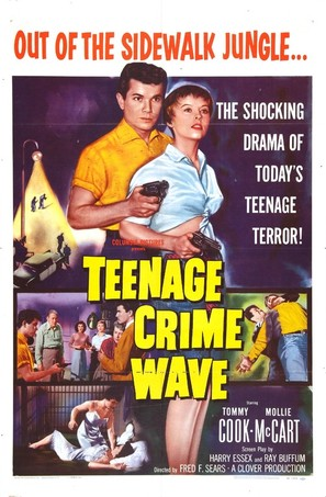 Teen-Age Crime Wave - Movie Poster (thumbnail)