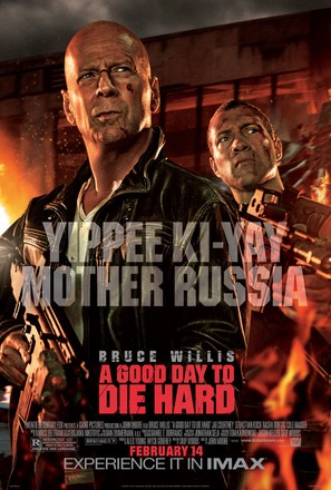 A Good Day to Die Hard - Movie Poster (thumbnail)