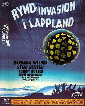 Rymdinvasion i Lappland - Swedish DVD cover (thumbnail)
